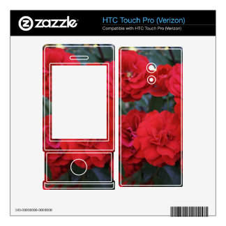 Red Rose Blossoms - flower photography HTC Touch Pro Skins