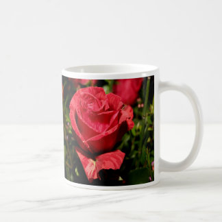 Red Rose Bouquet Classic White Coffee Mug