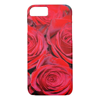 Red Rose Bouquet iPhone 7 Case