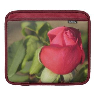 Red Rose Bud iPad Sleeve