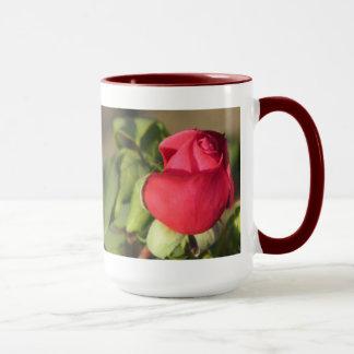 Red Rose Bud Mug
