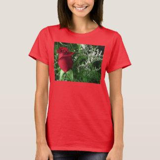 Red Rose Bud T-Shirt