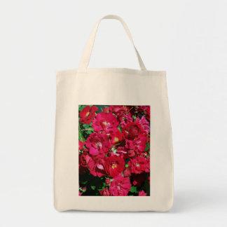 Red Rose Bush Bag