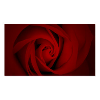red rose Double-Sided standard business cards (Pack of 100)
