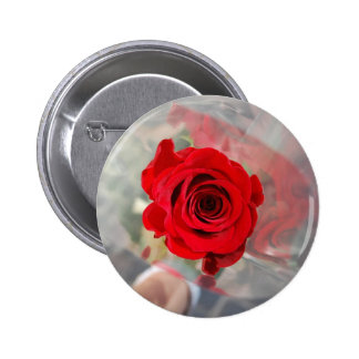 Red Rose Buttons