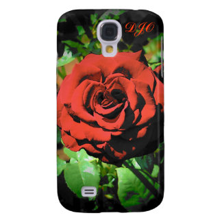 Red Rose by DJONeill Galaxy S4 Cover