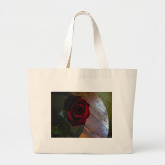 Red Rose Canvas Bags