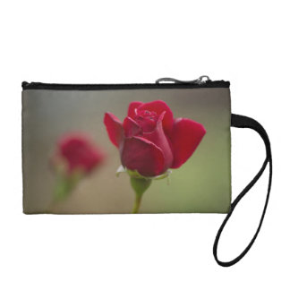 Red Rose Coin Wallet