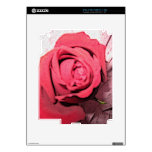 Red Rose Cover Skin For The iPad 2