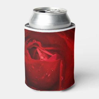 Red Rose Custom Can Cooler