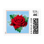 Red Rose custom postage (Sml)
