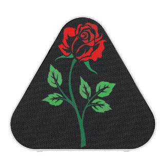 Red Rose Customizable Bluetooth Speaker