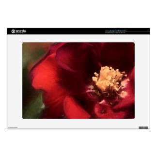 Red Rose Decal For Laptop