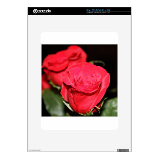 Red Rose Decal For The iPad