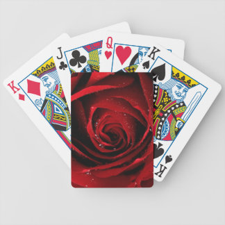 Red rose deck of cards