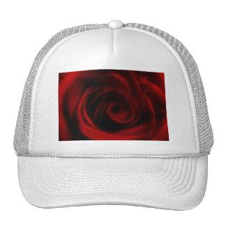 Red Rose depth of love Trucker Hat