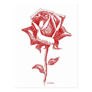 Red Rose Designs Postcard