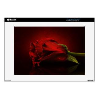 Red Rose Dripping Blood Laptop Skin