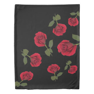 Red rose duvet