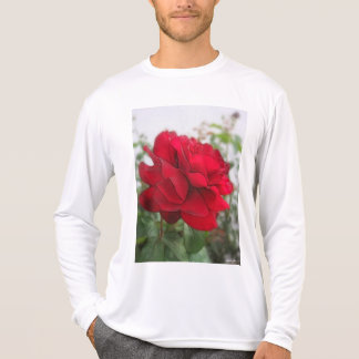 Red Rose Edges T-shirts