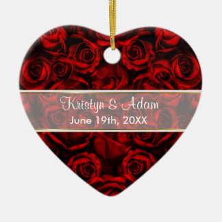 Red Rose Elegance - Customize Ornaments