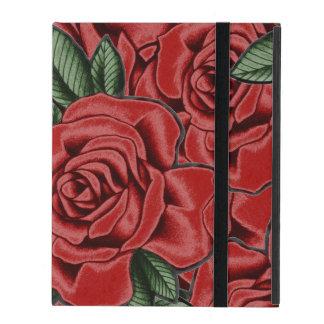 Red Rose Elegance iPad Case