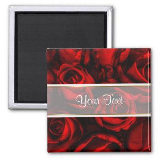 Red Rose Elegance Magnet