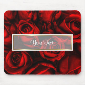 Red Rose Elegance Mouse Pad
