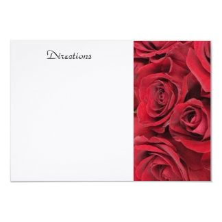 Red Rose Enclosure Card