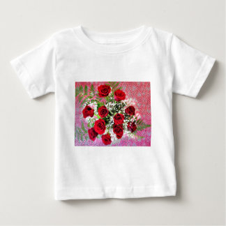 Red Rose Explosion of Love Baby T-Shirt