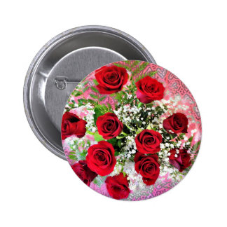 Red Rose Explosion of Love Pins