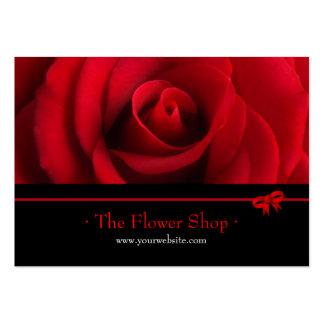 Red Rose Florist business card