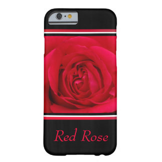 Red Rose Flower Barely There iPhone 6 Case