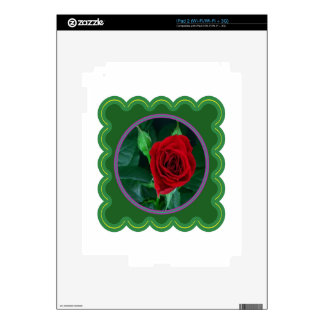 Red Rose Flower Floral Sensual Image 100 gifts iPad 2 Decals