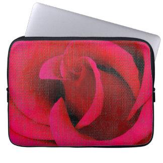 Red Rose flower Laptop Sleeve