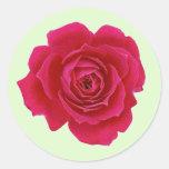 Red Rose Flower Sticker