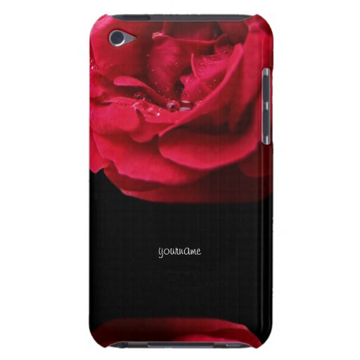 Red Rose for Passion iPod Case-Mate Case