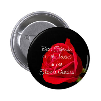 Red Rose Friendship Pin- customize