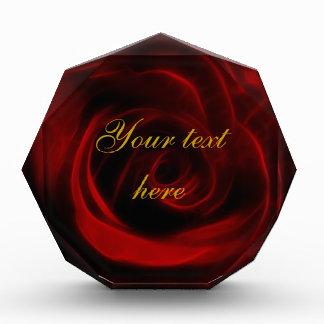 Red rose gift award