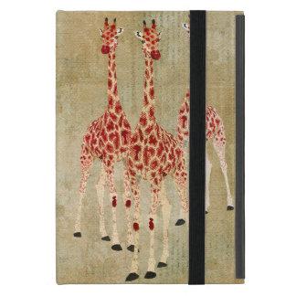 Red Rose Giraffes Case