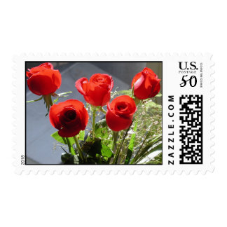 Red Rose Group Stamp