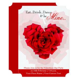 Valentines Day Dance Invitations Zazzle