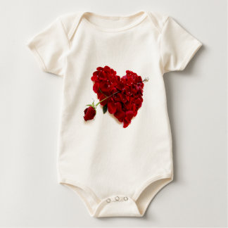 red rose heart bodysuits