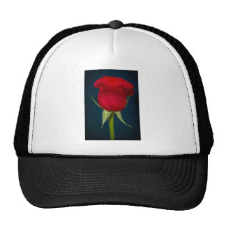 Red Rose Image Trucker Hat