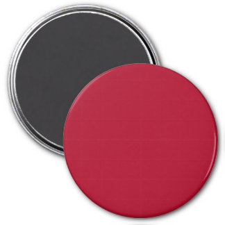 Red Rose in an English Country Garden 3 Inch Round Magnet