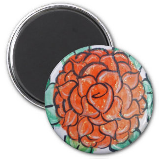 Red Rose in Bloom Magnet