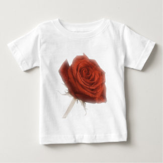 Red Rose In Soft Focus Baby T-Shirt