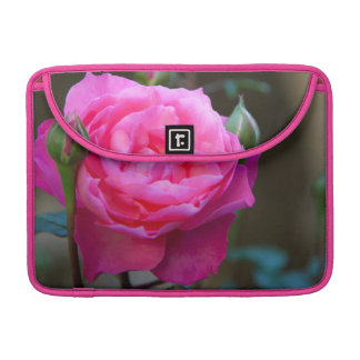 Red Rose In The Garden Of Hotel Carnavalet MacBook Pro Sleeve