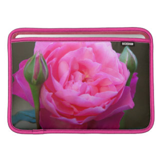 Red Rose In The Garden Of Hotel Carnavalet MacBook Sleeve