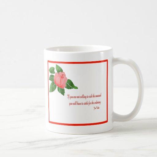 Red rose inspiration mug